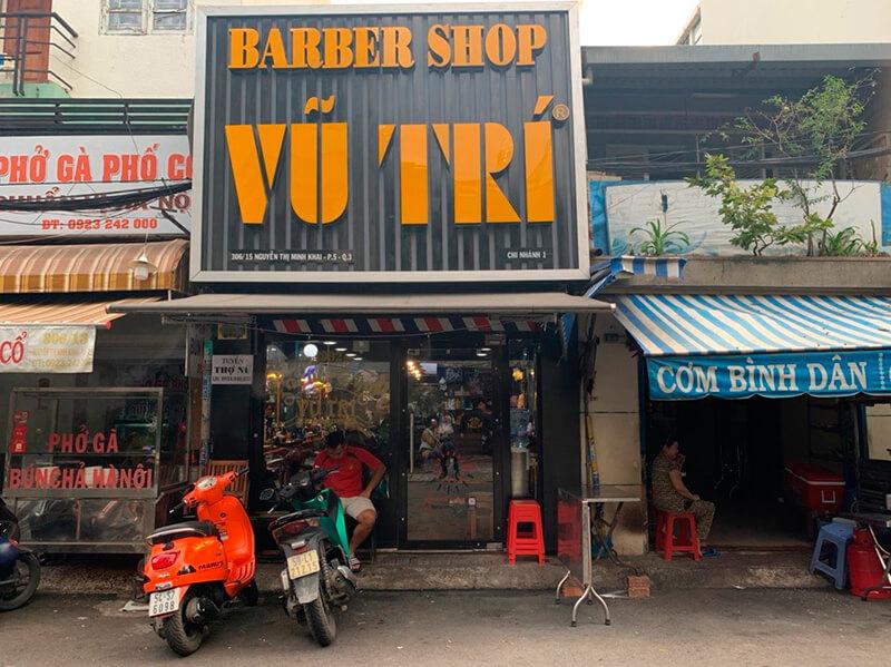 Tiệm tóc VŨ TRÍ barber | Cắt tóc nam Quận 3