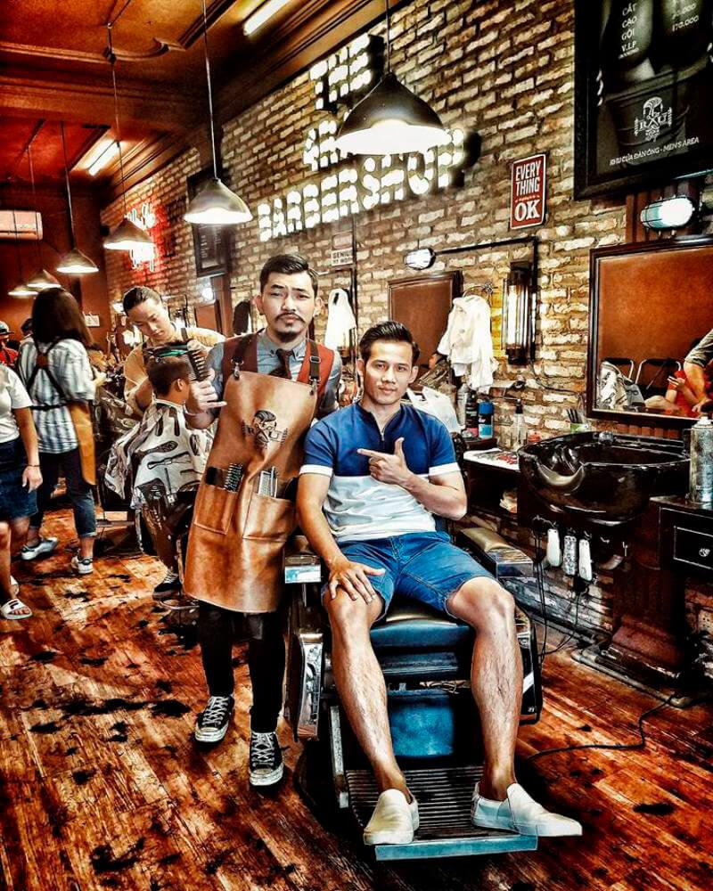 Tiệm 4RAU barber | Cắt tóc nam rẻ đẹp Tp.HCM